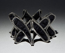 Criss Cross Zipper Bracelet by Kate Cusack (Zippered Bracelet)