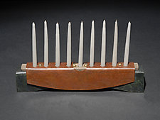 Tabard Menorah by David M Bowman and Reed C Bowman (Metal Menorah)
