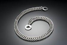 Cobra by Edith Schneider (Silver Necklace)