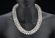 Boa by Edith Schneider (Silver Necklace)