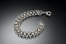 Caterpillar by Edith Schneider (Silver Bracelet)
