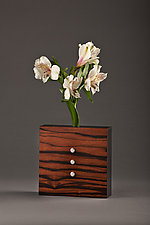 Bud Vase by David Kiernan (Wood Vase)