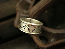 Silver Band Ring by Brittany Foster (Silver Ring)