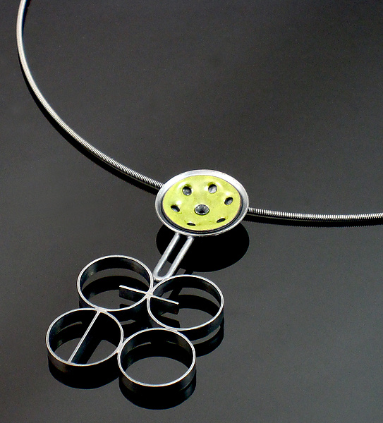 Gear Movement Necklace