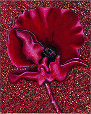 Red Poppy I by Rachel Tribble (Giclee Print)