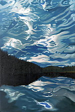 Southern Vermont Drama by Robert Steinem (Oil Painting)