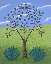 The Small Heart Tree by Jane Troup (Giclee Print)