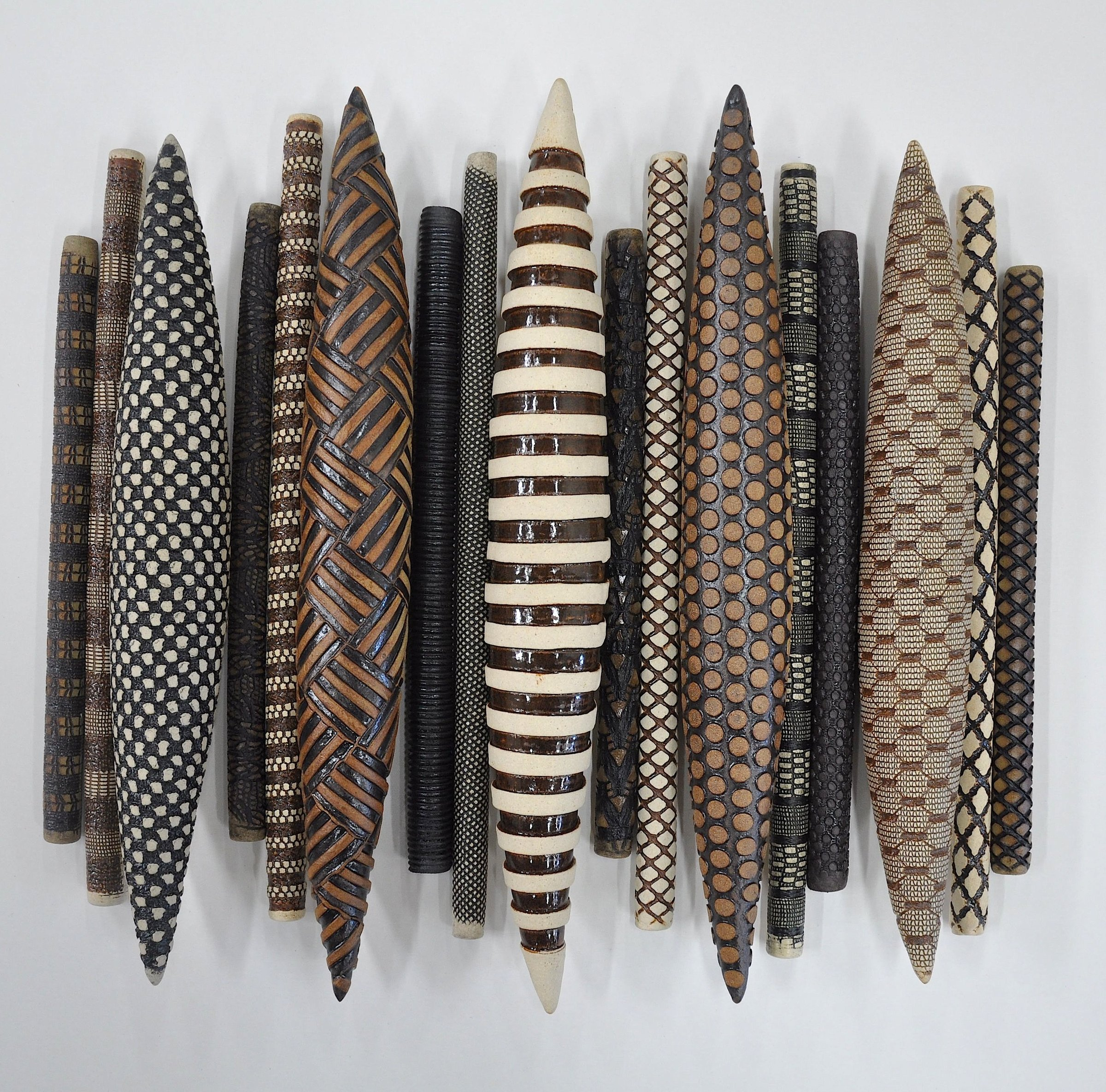 Exceptionnel Domestic Markings 17 By Kelly Jean Ohl (Ceramic Wall Sculpture) | Artful  Home