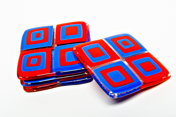 Red Tomato Retro Coasters