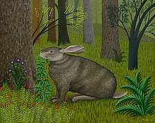 The Rabbit by Jane Troup (Giclee Print)
