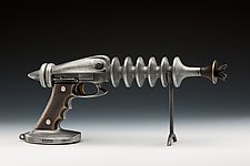 Ray Gun by Scott Nelles (Metal Sculpture)