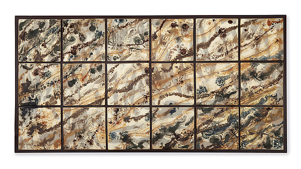 Rock Face Tile Wall Hanging