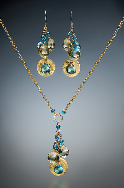 Swiss Topaz and Citrine Jewelry