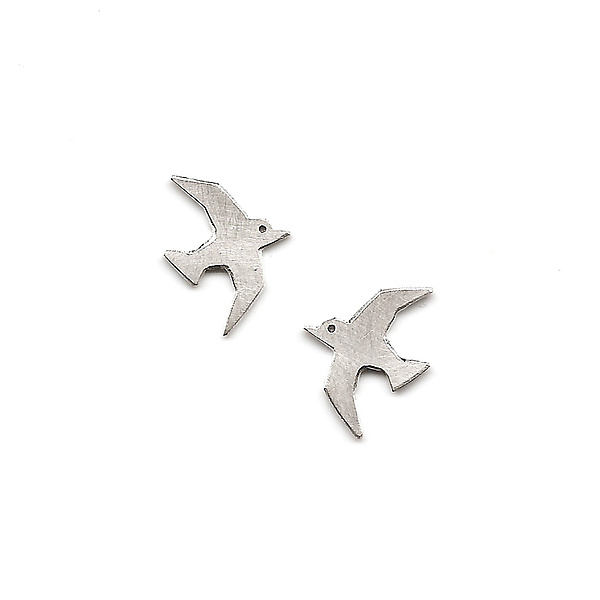 Tiny Flying Bird Studs