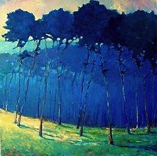 Blue Veils by Ken Elliott (Giclee Print)