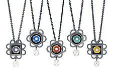 Flower Petal Necklace by Giselle Kolb (Silver Necklace)