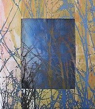 Treelines by Wen Redmond (Fiber Wall Art)