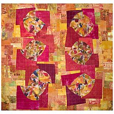 Burntwoods by Catherine Kleeman (Art Quilt)