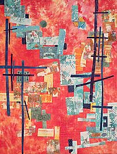 On the Edges by Catherine Kleeman (Art Quilt)