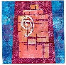 Temple of the Sun by Catherine Kleeman (Fiber Wall Art)