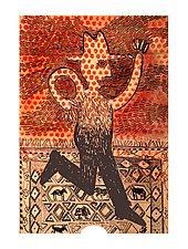 Dancing Man by Alison Palmer (Pigment Print)