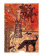 Dancing Woman by Alison Palmer (Pigment Print)