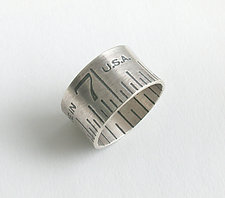 Ruler Ring by Connie Verrusio (Silver Ring)