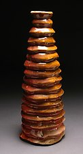 Zig Zag 65 by Steve Murphy (Ceramic Vase)