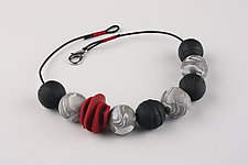 Sandakan Necklace by Klara Borbas (Polymer Clay Necklace)