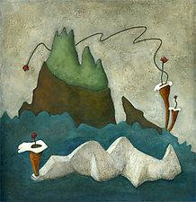 Ocean Reef by Carrie Crane (Giclee Print)