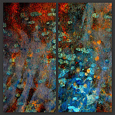 Evening Shimmer by LuAnn Ostergaard (Color Photograph on Wood)