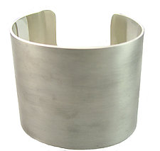 Wide Sterling Cuff by Claudia Endler (Silver Bracelet)