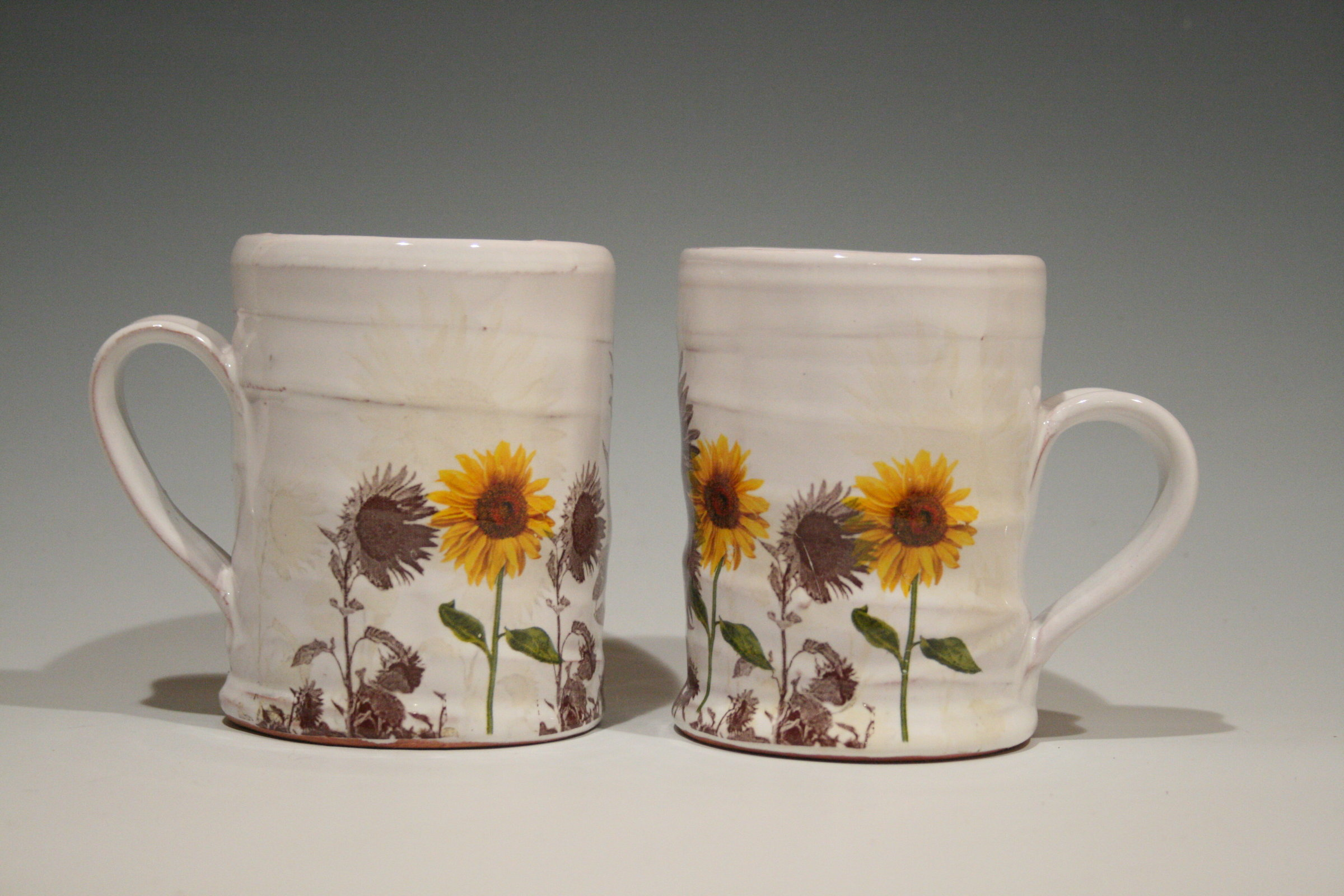 Artful Home Sunflower Mug By Justin Rothshank Ceramic Mug Artful Home