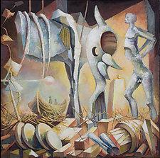 Meeting by Konstantin Konstantinov (Oil Painting)