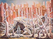 Dedication by Konstantin Konstantinov (Oil Painting)