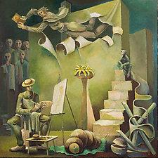Studio7 by Konstantin Konstantinov (Oil Painting)