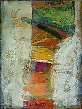 Red Tower by Maren Larson (Acrylic Painting)