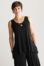 Matte Jersey Tank by Planet   (Knit Top)
