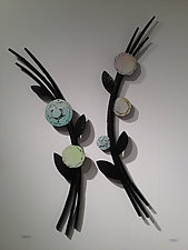 Gathering by Susan Madacsi (Metal Wall Sculpture)