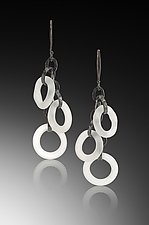 Rings Earrings by Eloise Cotton (Art Glass Earrings)