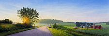 Winding Summer Road by Steven Kozar (Giclee Print)
