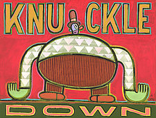 Knuckle Down by Hal Mayforth (Giclee Print)