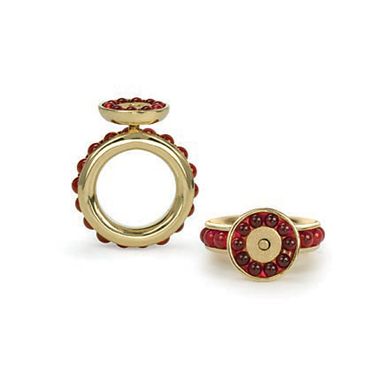 Pomegranate Ring
