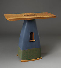 Console Table by Mark Del Guidice (Wood Console Table)