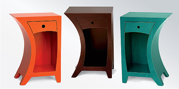 Side Table in Vibrant Colors
