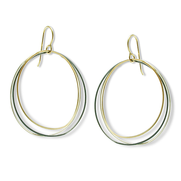 Triple Mayline Hoop Earring