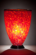Inferno Lamp by Curt Brock (Art Glass Table Lamp)