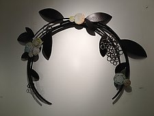 Crest in Bloom by Susan Madacsi (Metal Wall Sculpture)
