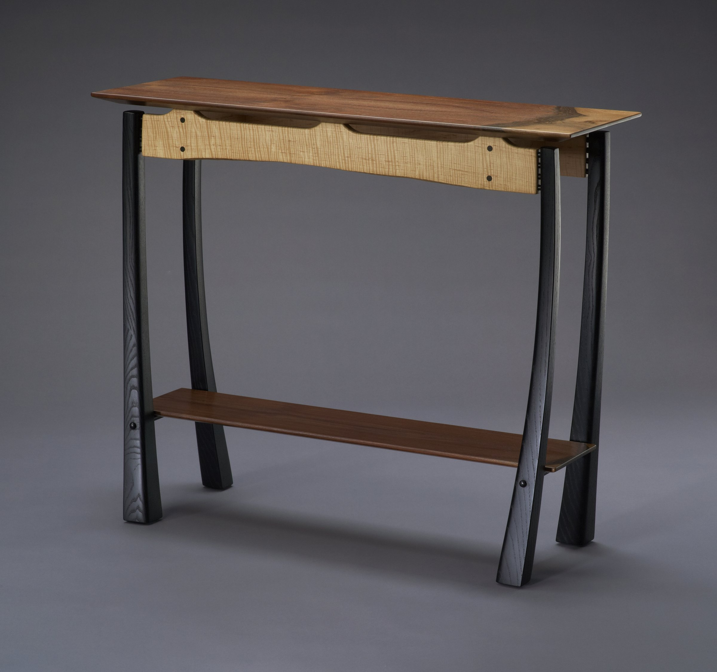 Twisted by brian hubel wood console table artful home geotapseo Gallery