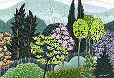 Spring Unfolds by Wynn Yarrow (Giclee Print)